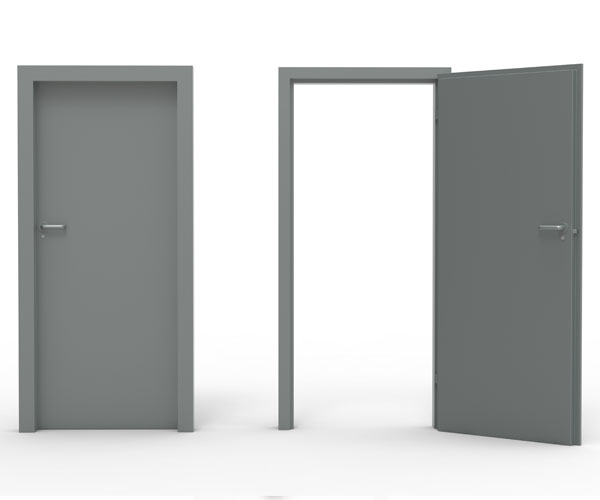 steel-hinged-door